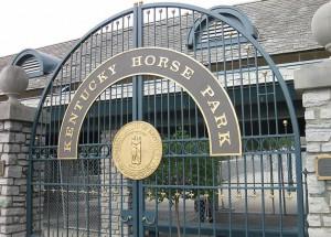 Kentucky Horse Park front gate
