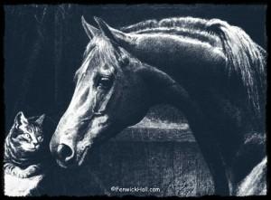Godolphin Arabian by George Ford Morris