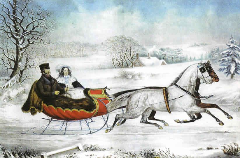 Currier Ives Celebrating Horses Of A Bygone Era