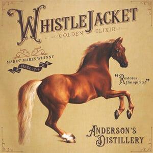 Custom Whistlejacket Novelty Bar Sign