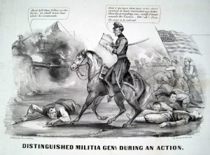 Currier and Ives political cartoon