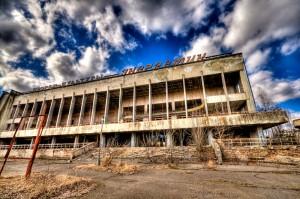 Lenin Square at Pripyat
